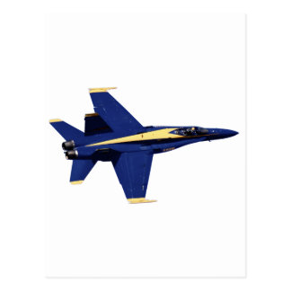 US NAVY Blue Angels In Flight at Fleet Week Postcard