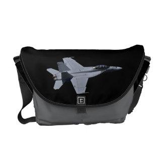 US Navy F18 Super Hornet Messenger Bag