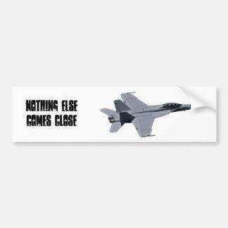 US Navy F-18 Super Hornet Bumper Sticker