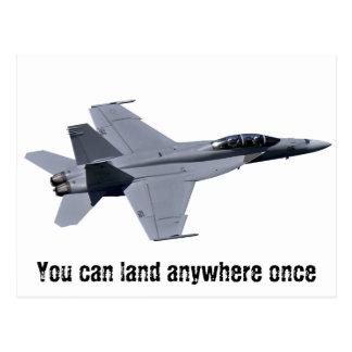 US Navy F-18 Super Hornet Postcard