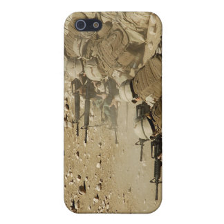 US Navy Seabees fire M-4 and M-16A2 rifles iPhone 5 Covers