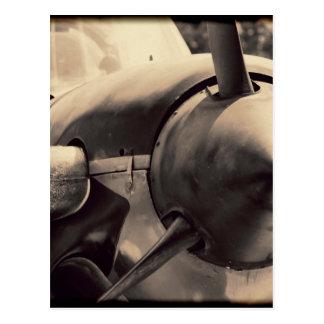 US Navy World War II T-34 Mentor trainer Postcard