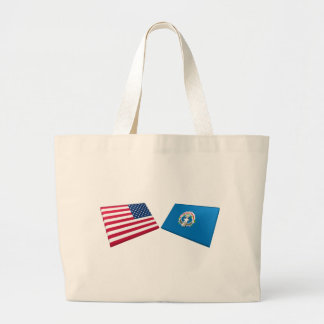 US & Northern Marianas Flags Bags