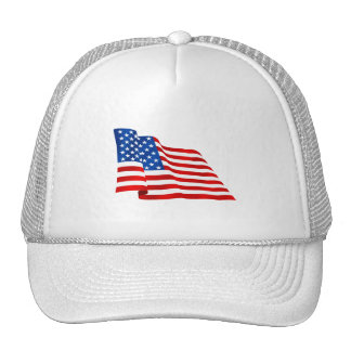 US old glory flag of the United States Cap