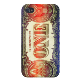 US One Dollar Bill Iphone 4 4S Case