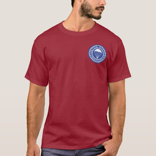 US Paratroops + Airborne Wings T-shirts
