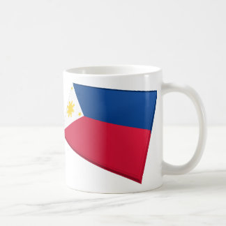 US & Philippines Flags Coffee Mug