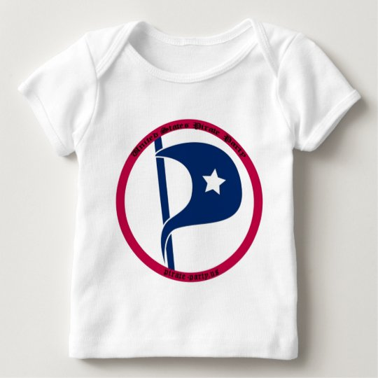 US Pirate Party Baby T-Shirt