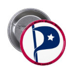 US Pirate Party Buttons