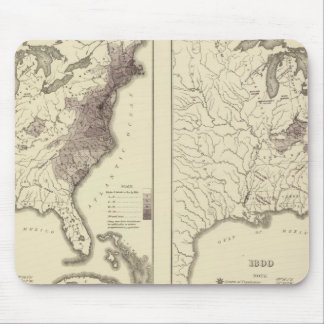 US Population 1790-1820 Mouse Pad