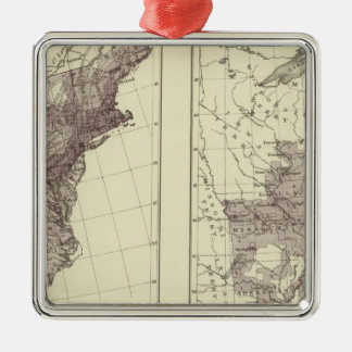 US Population 1830-1840 Christmas Ornament