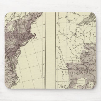 US Population 1830-1840 Mouse Pad