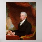US President James Monroe by Gilbert Stuart Poster
