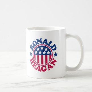 US President Ronald Reagan Basic White Mug