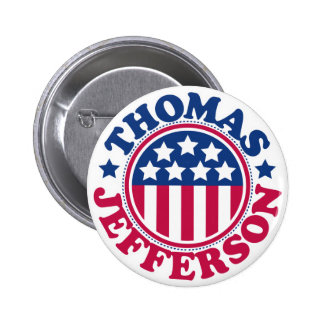US President Thomas Jefferson Pin