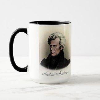 US Presidents Souvenir Mug Andrew Jackson