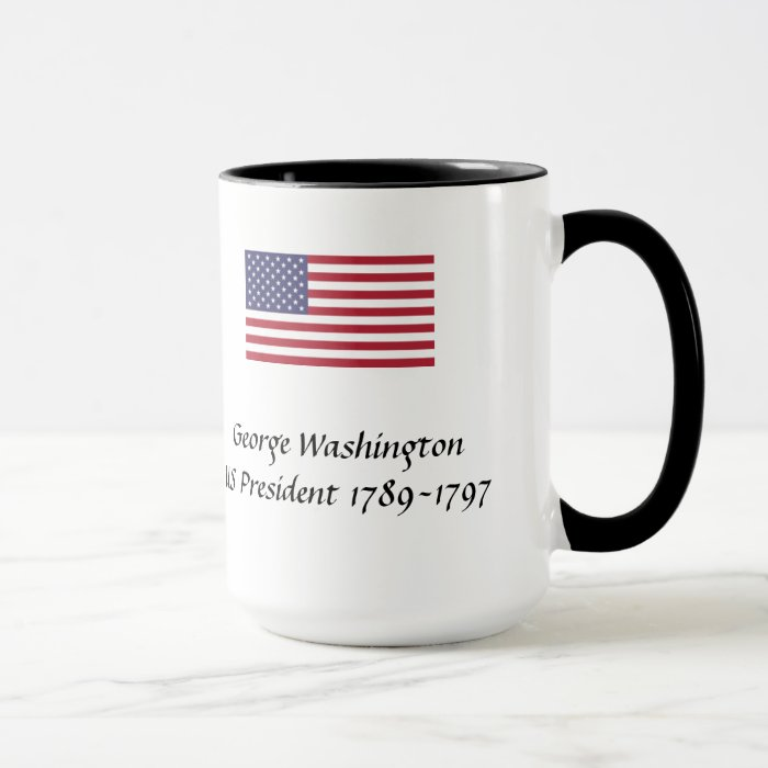 US Presidents Souvenir Mug - George Washington