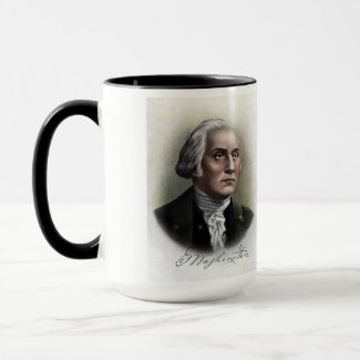 US Presidents Souvenir Mug - George Washington