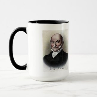 US Presidents Souvenir Mug - John Quincy Adams