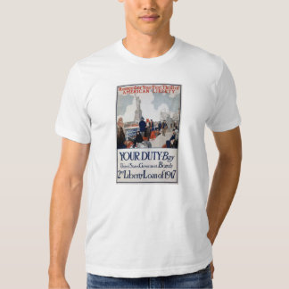 US Propaganda Poster Tee Shirt