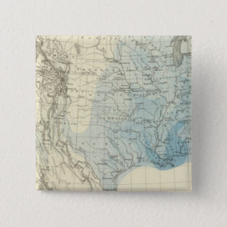 US Rain Chart 15 Cm Square Badge