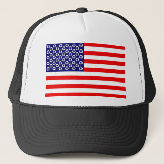 US recycle flag hat