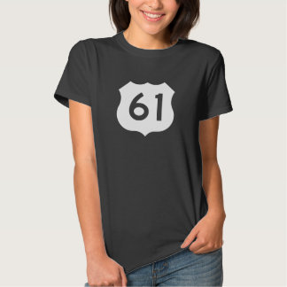 US Route 61 Sign Shirt