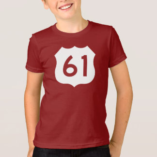 US Route 61 Sign T-Shirt
