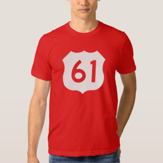 US Route 61 Sign Tees