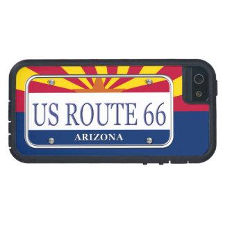 US ROUTE 66 Arizona Vanity Plate iPhone 5 Cover