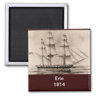 US ship Columbus 1815 Square Magnet