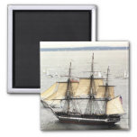 US Ship Constitution, Parade of Sail Square Magnet