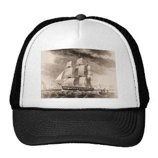 US Ship Houston 1819 Trucker Hats