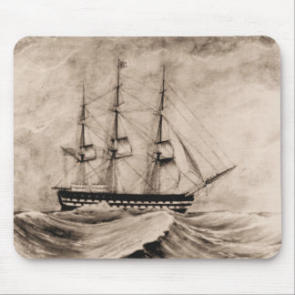 US Ships Independence 1815 Mouse Pad