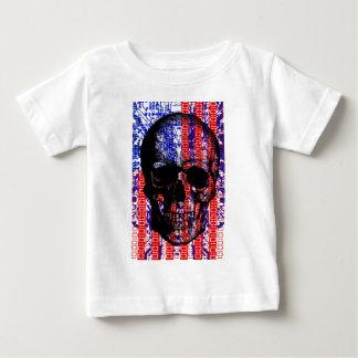 US Skull in a digital circuit Tee Shirts