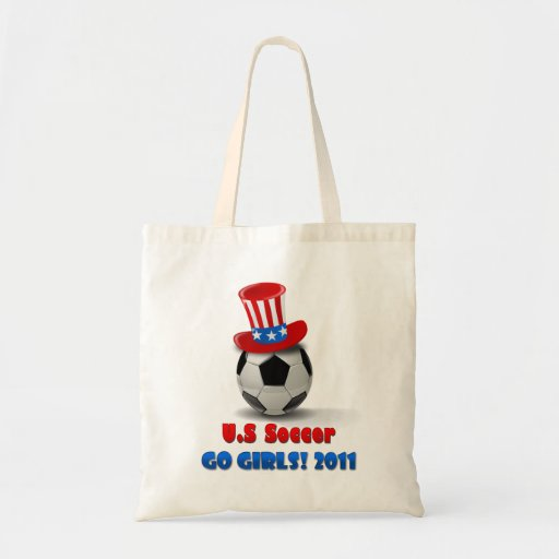 US Soccer Go Girls 2011 Tote Bag