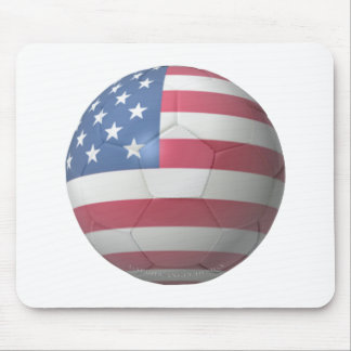 US Soccer Mouse Pad