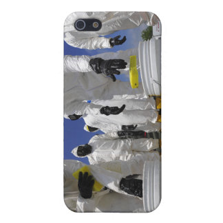US Soldiers from the 457th Chemical Battalion iPhone 5/5S Cover