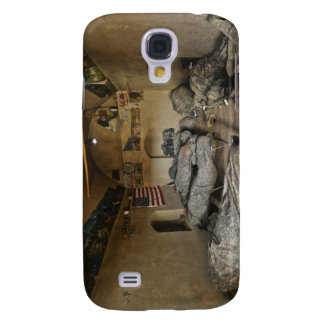 US Soldiers sleep in an abandoned mud house Galaxy S4 Case