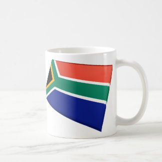 US & South Africa Flags Coffee Mug