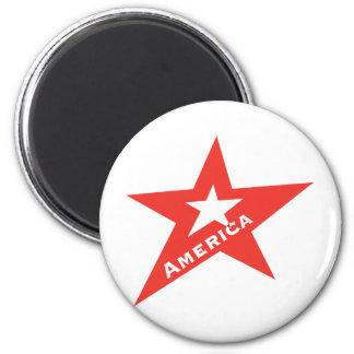US Star 6 Cm Round Magnet