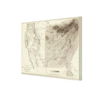 US Storm Centres Canvas Print