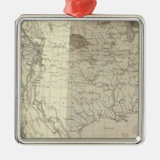 US Storm Centres Silver-Colored Square Decoration
