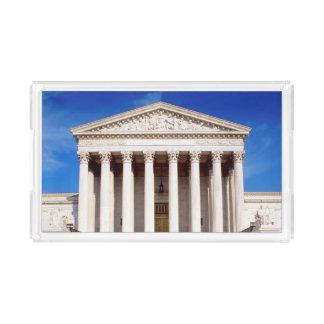 US Supreme Court building, Washington DC, USA Acrylic Tray
