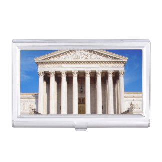 US Supreme Court building, Washington DC, USA Business Card Holder