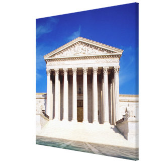 US Supreme Court building, Washington DC, USA Canvas Print