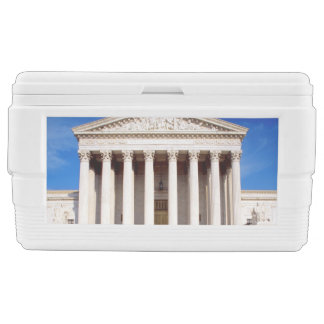 US Supreme Court building, Washington DC, USA Ice Chest