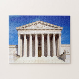US Supreme Court building, Washington DC, USA Jigsaw Puzzle