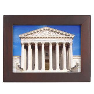 US Supreme Court building, Washington DC, USA Keepsake Box
