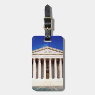 US Supreme Court building, Washington DC, USA Luggage Tag